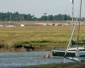 The salt marshes at Wells-next-the-sea are a wonderful place for seaside walks