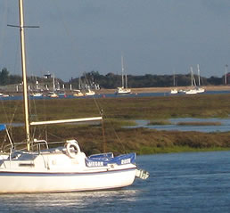 Wells-next-the-Sea is a peaceful holiday town on the  north Norfolk coast